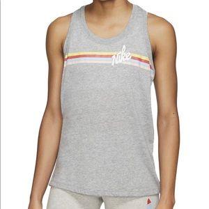 Nike striped tank